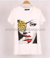 Z54909A 2015 LATEST WOMEN SUMMER T SHIRT