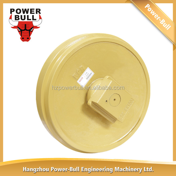 Construction Machinery EX100 Front Idler Assembly For Excavator Undercarriage Parts