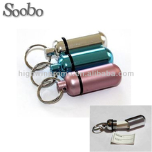 aluminum barrel tube pet id pendant tag