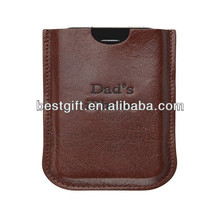 Top soft faux leather phone cases for iphone 4 leather sleeve