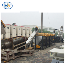 Plastic granulating extruder machine LDPE PP/PE film recycling production line