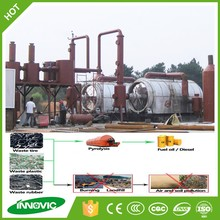 High profit project environmental alibaba trade assurance waste tire recycling machine to fuel oil