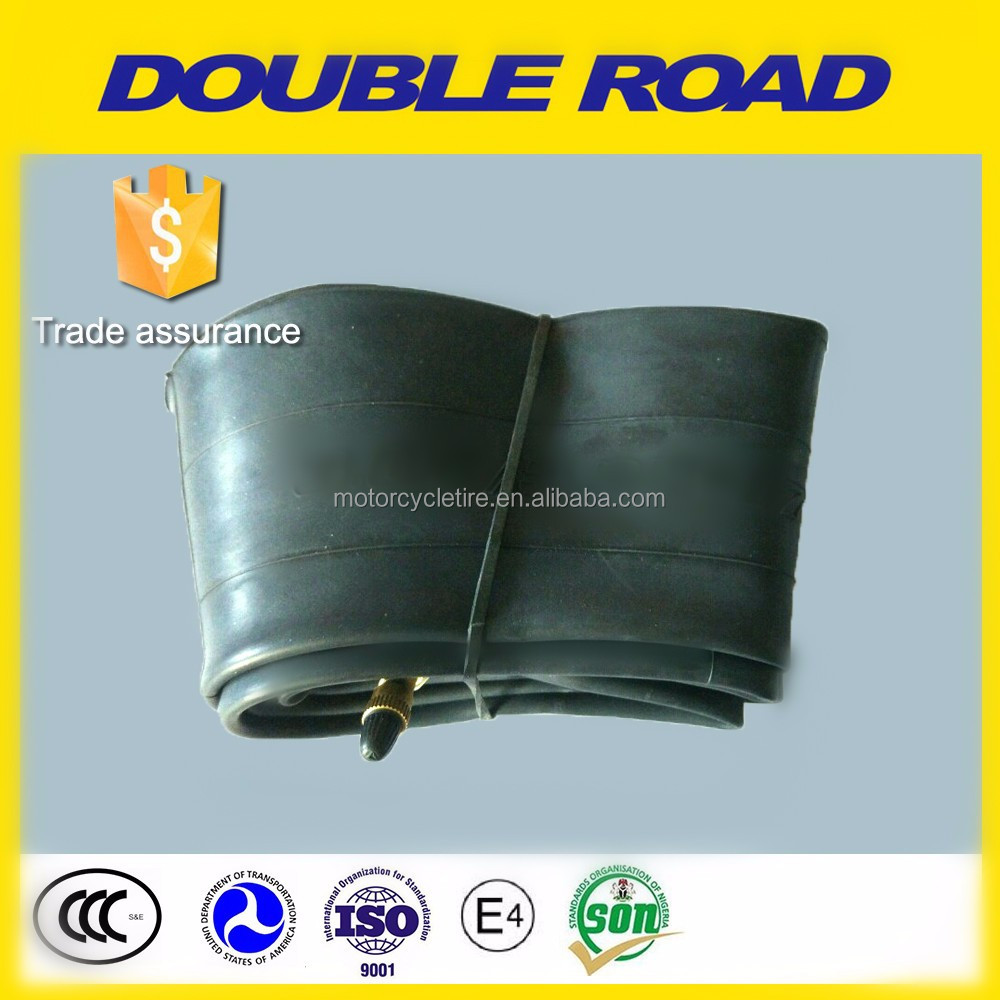China Double Road brand motorcycle tyre and tube 2.75-18 motorcycle inner tube