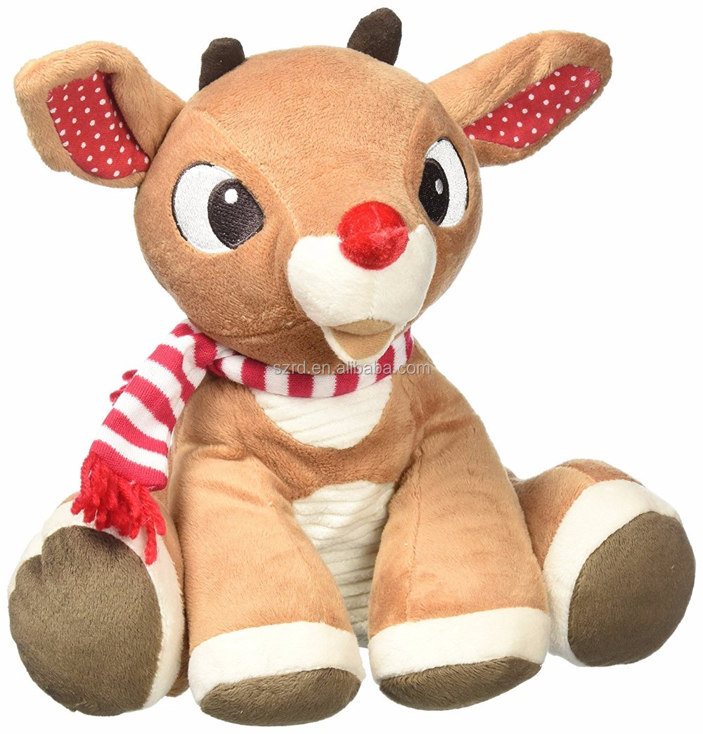 Fashionable high quality plush reindeer animal doll/reindeer Stuffed Toy For Promotional/soft toy manufactuter
