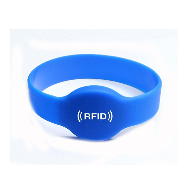 T5577ID nfc bracelet silicon smart rfid wristband for access control ticket