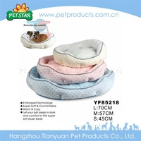 2016 New Design High Quality Plush Boat Pet Dog Bed