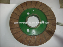 Chinese crown disc brake and charkite braker for tower crane machine