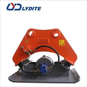 Chinese famous manufacturer LYD hydraulic compactor plate for excavator vibratory hammer for sale