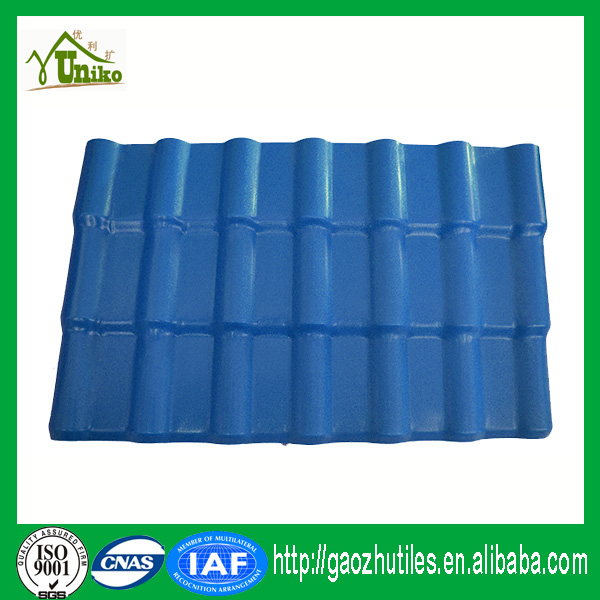 pure black custom-made top grade green source synthetic roofing tiles for houses