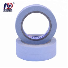 double sided clear tape Small paper core <strong>adhesive</strong> for floor leather double sided <strong>adhesive</strong> tape jumbo roll
