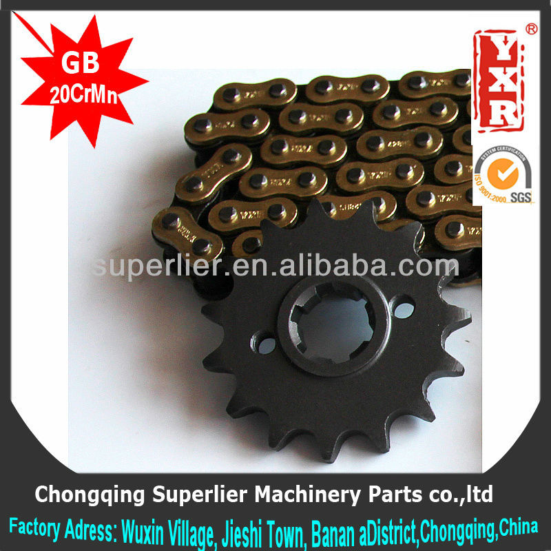 made in china axle sprocket,XLS 125 14T sprocket,forging 1045 steel steel sprocket wheel