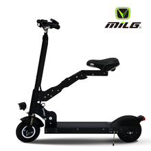 Brushless geared motor 8 inch folding mobility scooter 2 wheel mini electric scooter