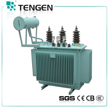 Three-phase oil-immersed distribution power transformer S11-M-30~3150