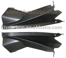 Carbon fiber upper inner fairing for Aprilia motor