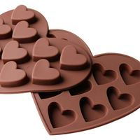 fashional food grade various shape silicone chocolate mold