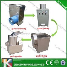 peeled garlic processing machine/garlic peeling production line/garlic clove peeling machine