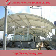 High Quality cable membrane structure steel car canopy