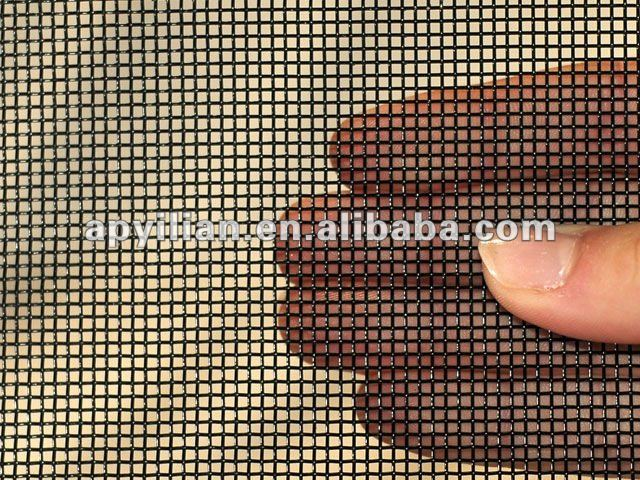 MT best quality green epoxy coated mosquito protection window screen