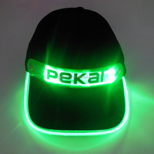 led running cap perfect for running, camping, hunting and reading