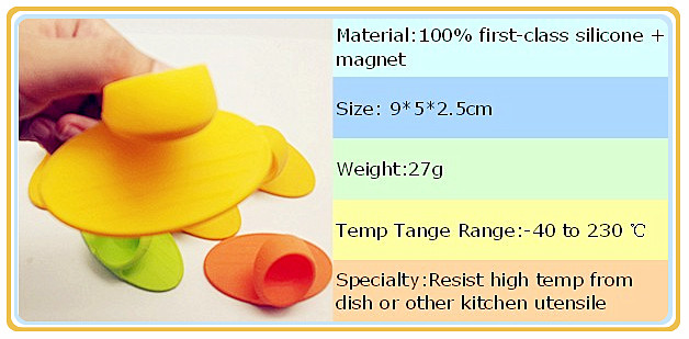 silicone high temperature resistance oven mitt with magnet