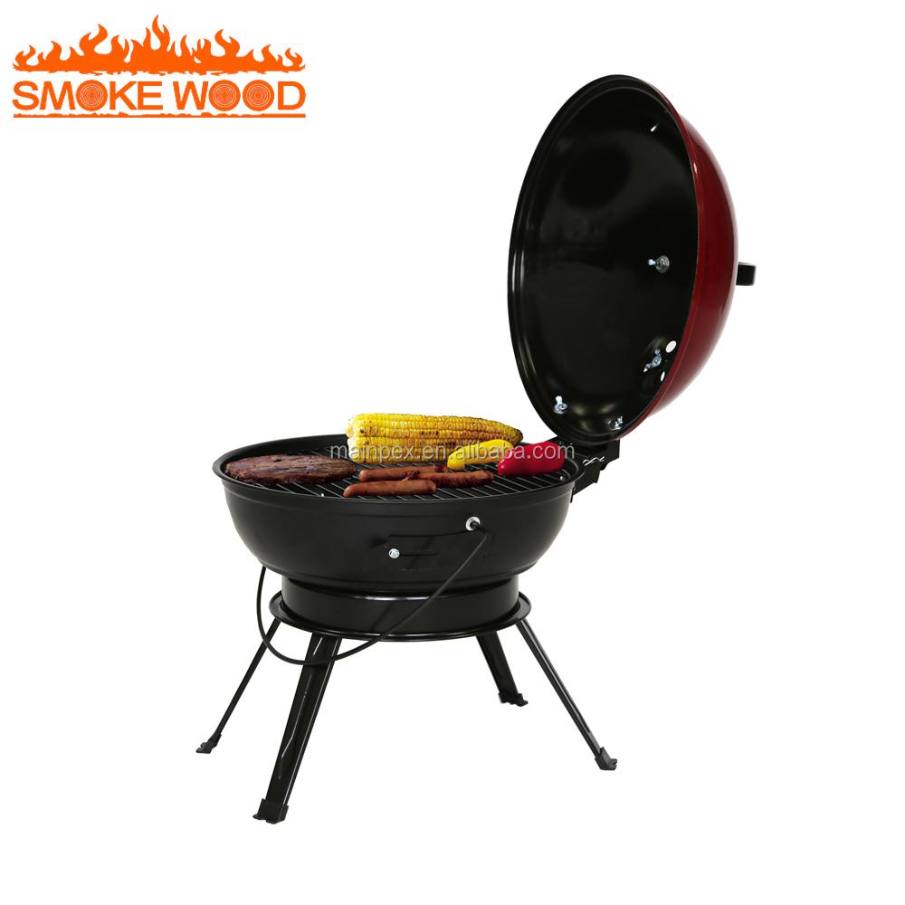 14.5 Pouce Latset Fenêtre Grill Design de Table Pliable Et Balcon Barbecue Grill Intérieur Cuisine Barbecue Grill