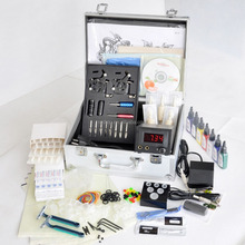 Top grade tattoo kit with 2 professional tattoo machine guns