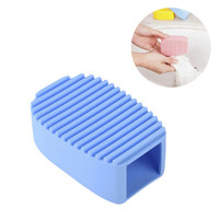 Household Scrubbing Silicone Cleaning Laundry Brush