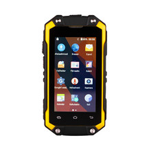 New design 2017 durable mini smart phone IP65 ruggedized phones with gps