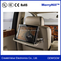 24V Bus Coach Advertising Embedded 10 inch 12 inch TFT LCD Monitor With VGA Connector