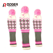 Hot sale unique golf driver head cover,cute golf club head cover