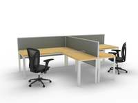 fashion wooden modern executive office table design with screen (TT-series)