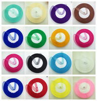 2017 HOTTEST SELLING Wholesale Nylon Sheer Organza Ribbon