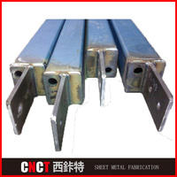 Precision square tube structure steel pipe truss