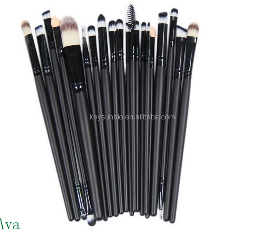 Recommend 20pcs professional makeup sets cosmetic <strong>brush</strong> for eyes
