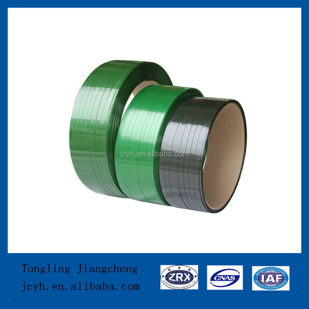 Green emboss PET Strapping Band
