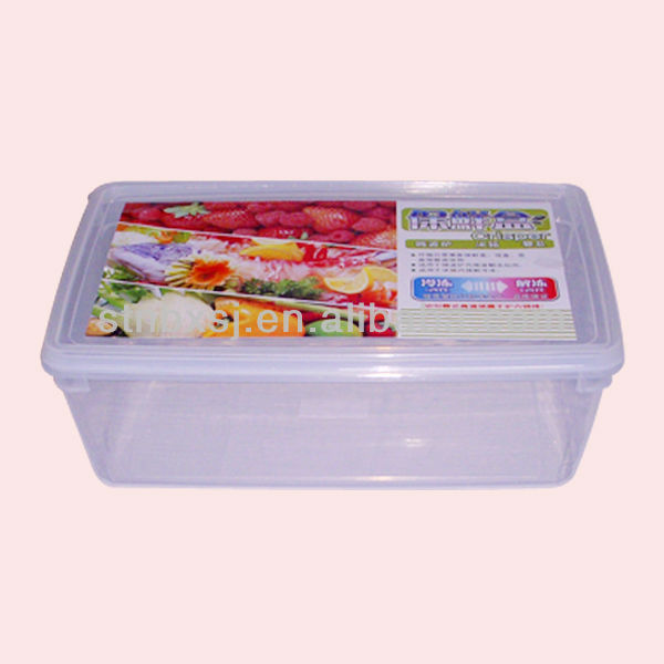 6.5L PP Plastic Multipurpose Clear Food Box
