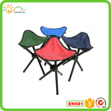Best selling portable folding chair with three legs for outdoor fishing
