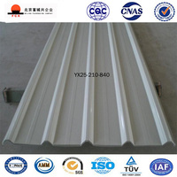Color Coated Galvanized Corrugated Profiled Steel Sheet For Roofs and Walls