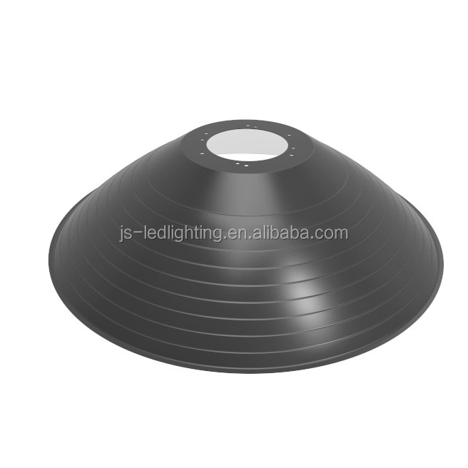 Aluminum lamp shades for 160W~200W high bay light, metal lamp shade(R120-517-130-2)