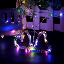 2017 most popular battery ceiling copper wire fairy light decoration for living room