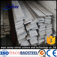 high quality of 304 hot rolled steel flat bars in stock