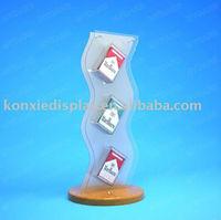 Buy acrylic cigarette pack dispenser rack for cigarette shop in ...