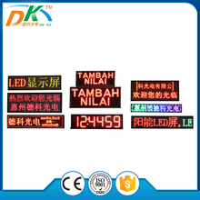 P10 double-color high brightness display module,led display panel price