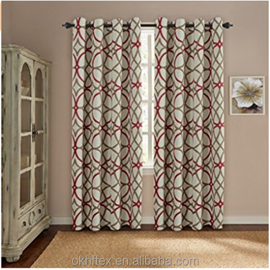 new design india heritage curtains embossed suede curtain