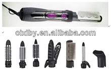 Hot sale multifunctional hot air brush, electric rotating hair brush
