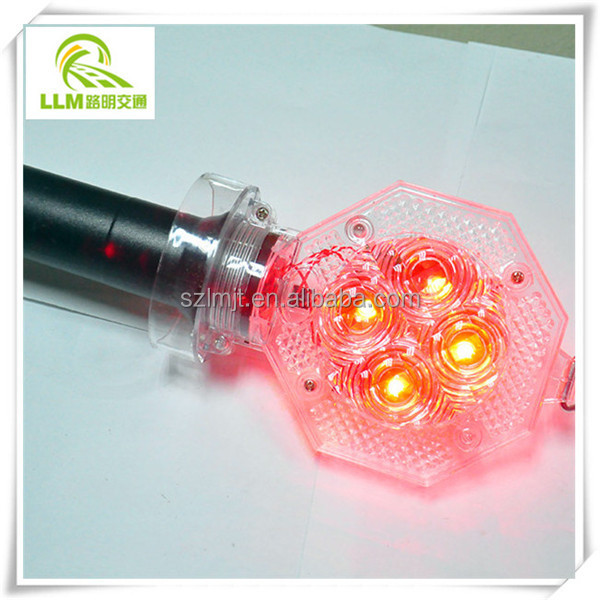Direct manufacture road construction safety barricade warning light