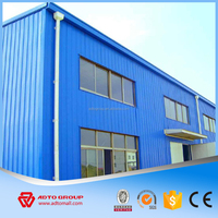 Light steel structure building Pre engineered steel frame structure warehouse/steel structure industrial building plan