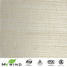 Beige Fabric With Silver Glitter Background Wallcovering Modern Restaurant Interior Decoration Design Chinese Hand Made
