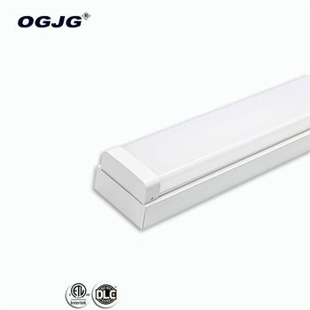CB CE ETL DLC 20w 40w 50w 60w 80w 100w 120w replace T8 T5 condos batten lamp PC Diffuser dali dimmable led ceiling lighting