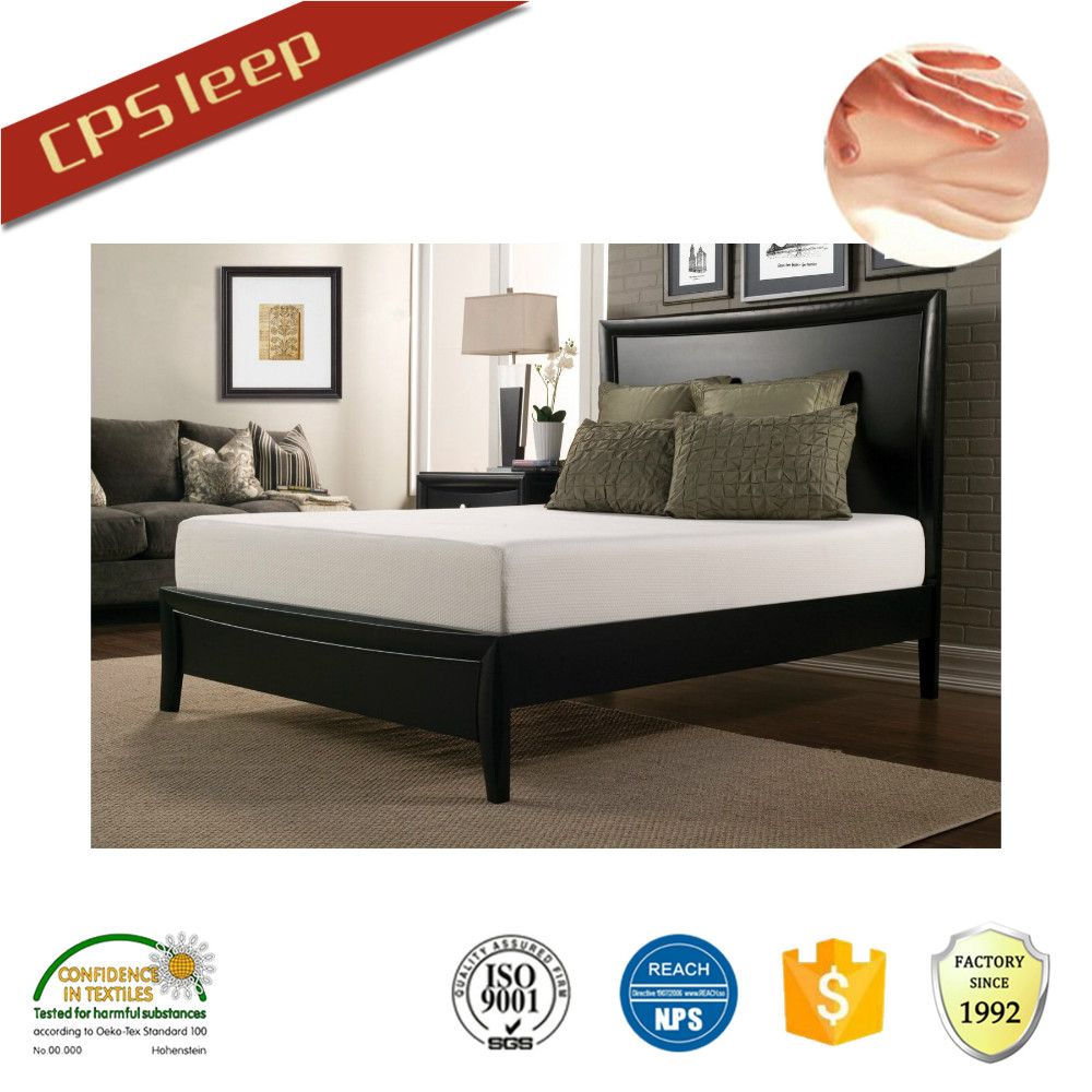 New design of luxurious memory foam mattress topper rebond foam mattress